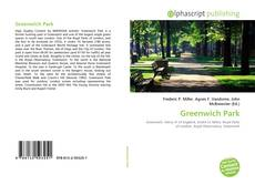 Bookcover of Greenwich Park