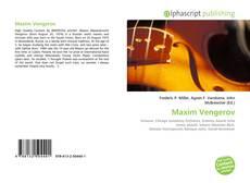 Bookcover of Maxim Vengerov