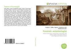 Bookcover of Forensic entomologist