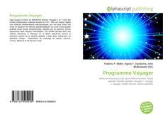 Couverture de Programme Voyager