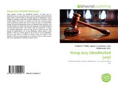 Couverture de Hung Jury (deadlocked jury)