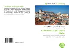 Bookcover of Leichhardt, New South Wales