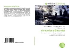 Couverture de Production d'Électricité