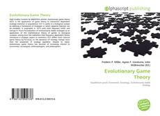 Bookcover of Evolutionary Game Theory