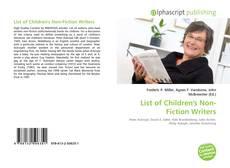 Borítókép a  List of Children's Non-Fiction Writers - hoz