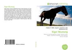 Bookcover of Kiger Mustang