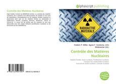 Bookcover of Contrôle des Matières Nucléaires