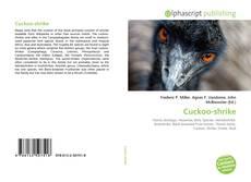 Portada del libro de Cuckoo-shrike