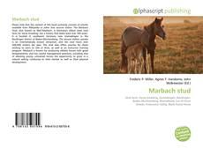 Обложка Marbach stud