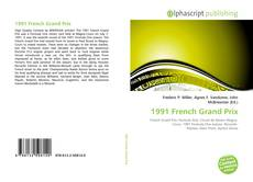 Bookcover of 1991 French Grand Prix