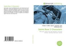 Saints Row 2 Characters kitap kapağı