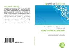 Обложка 1992 French Grand Prix