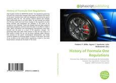 Capa do livro de History of Formula One Regulations