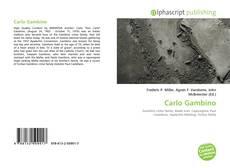 Portada del libro de Carlo Gambino