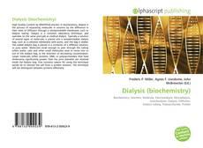 Capa do livro de Dialysis (biochemistry)