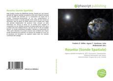 Couverture de Rosetta (Sonde Spatiale)