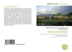 History of Kashmir kitap kapağı