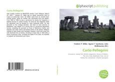 Bookcover of Carlo Pellegrini