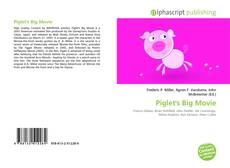 Bookcover of Piglet's Big Movie