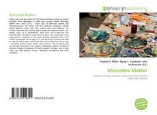 Copertina di Mercedes Matter