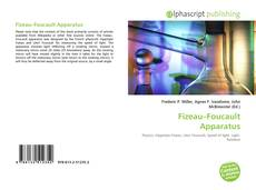 Bookcover of Fizeau–Foucault Apparatus
