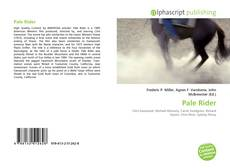 Portada del libro de Pale Rider