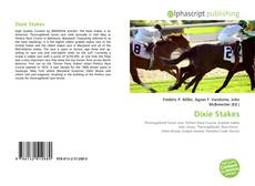 Dixie Stakes kitap kapağı