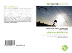 Bookcover of Maunder Minimum