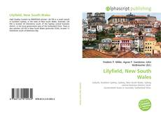 Bookcover of Lilyfield, New South Wales