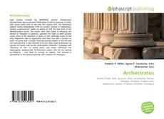 Portada del libro de Archestratus