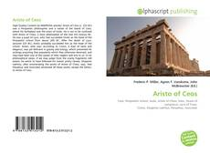 Bookcover of Aristo of Ceos