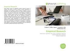 Capa do livro de Empirical Research