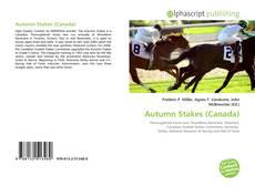 Copertina di Autumn Stakes (Canada)