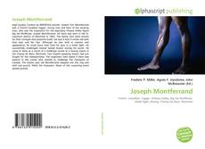 Bookcover of Joseph Montferrand