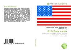 Capa do livro de Bush–Aznar memo