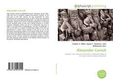 Bookcover of Alexander Carrick