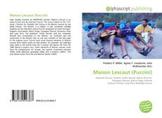 Bookcover of Manon Lescaut (Puccini)