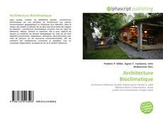 Bookcover of Architecture Bioclimatique