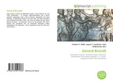 Bookcover of Gerard Brandt