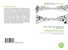 Bookcover of Singing Revolution
