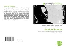 Bookcover of Music of Panama