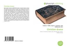 Bookcover of Christian drama