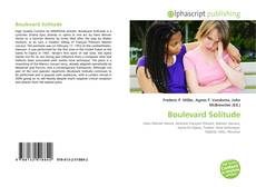 Bookcover of Boulevard Solitude