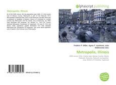 Capa do livro de Metropolis, Illinois