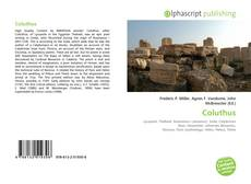 Bookcover of Coluthus