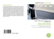 Bookcover of Alexander Ratiu