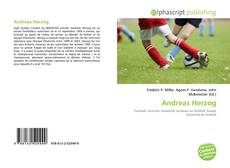 Capa do livro de Andreas Herzog