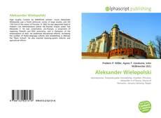 Bookcover of Aleksander Wielopolski