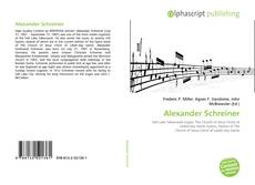 Обложка Alexander Schreiner