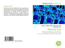 Couverture de Mémoire Vive